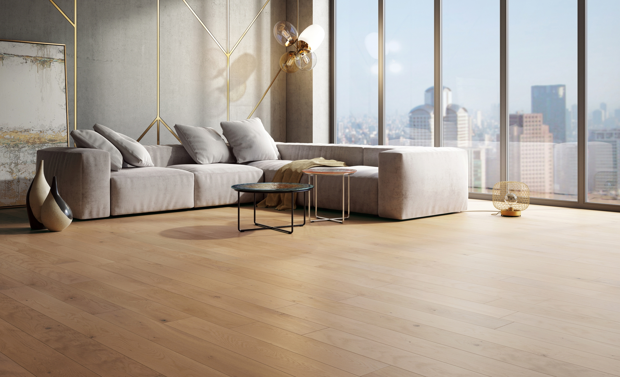 White Oak Hush Mercier Wood Flooring