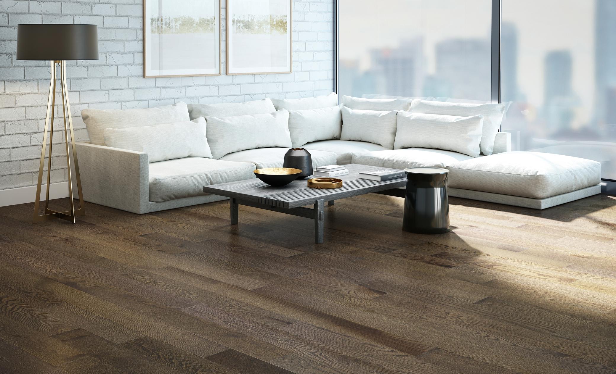 Red Oak Concrete Grey